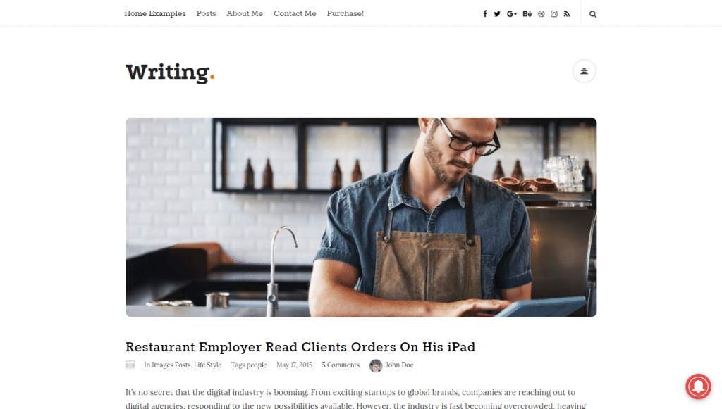 Best WordPress Personal Blog Themes for 2017